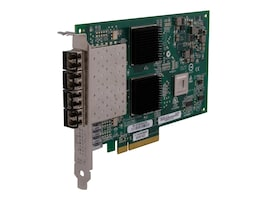 Qlogic 8GB Quad Port 8 PCIe, QLE2564-CK, 10113236, Network Adapters & NICs