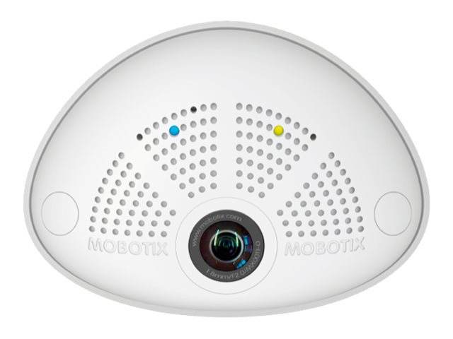 Mobotix 6MP Hemispheric I25 Network Dome Camera with 3.6mm Lens, White