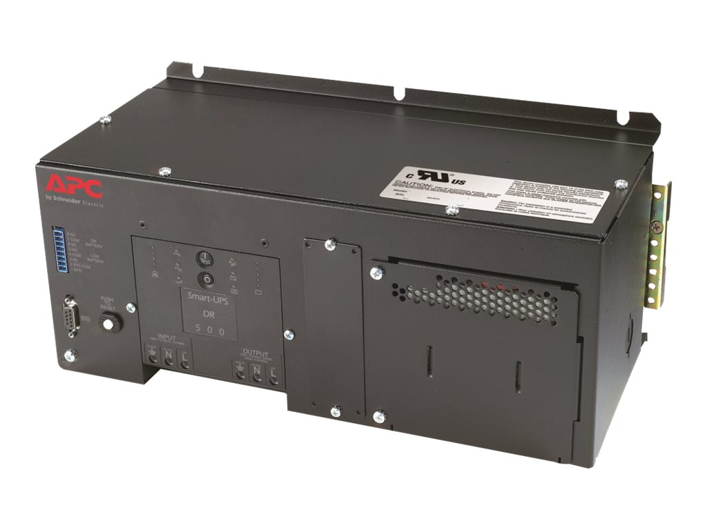 APC DIN Rail Panel Mount UPS w  High Temp Battery 500VA 120V, SUA500PDR-H, 17276345, Battery Backup/UPS