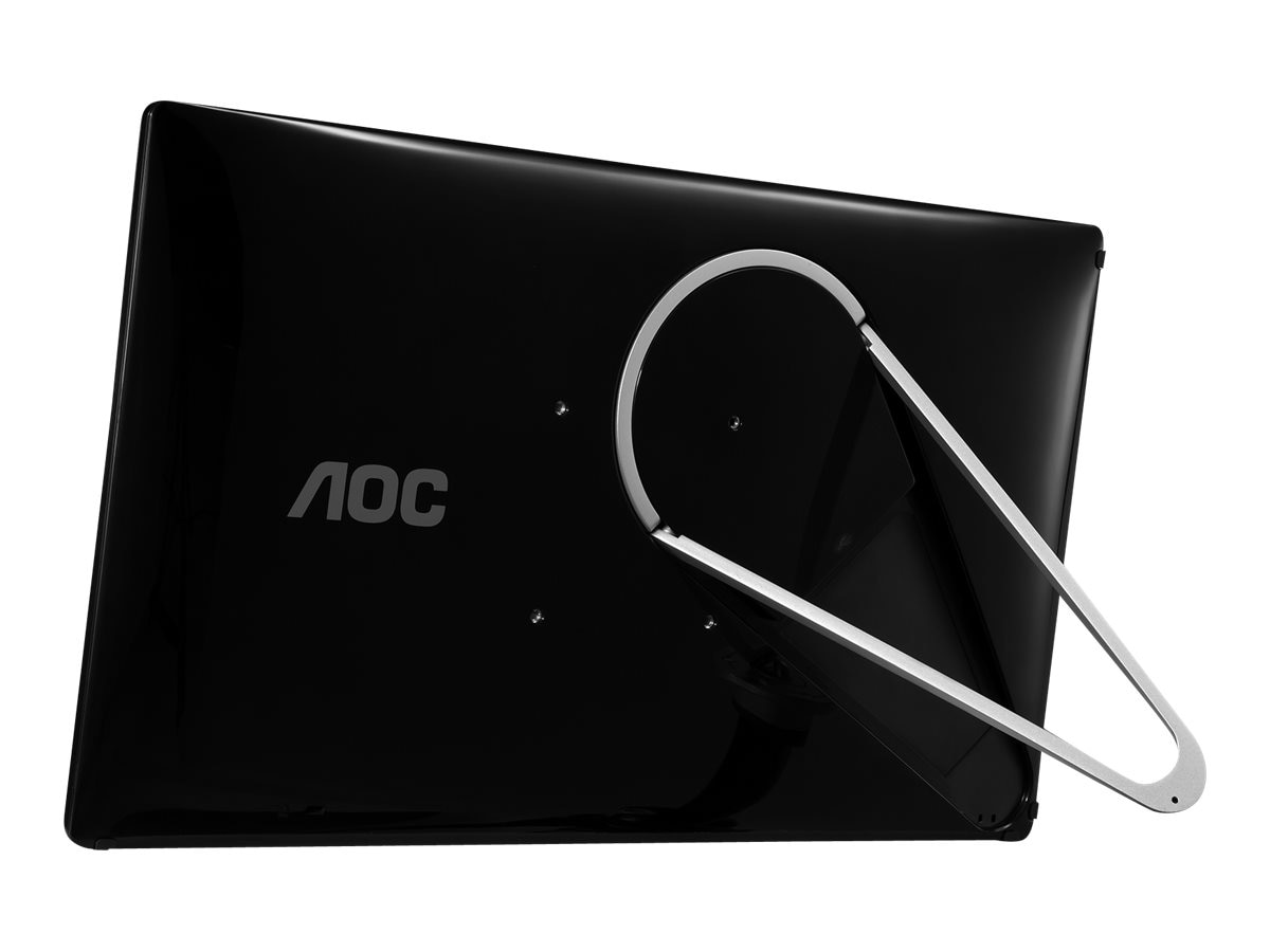 AOC 17 E1759SWU LED-LCD Monitor, Black, E1759FWU