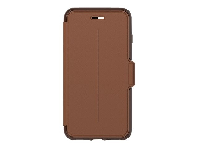 OtterBox Strada Folio for iPhone 7 Plus, Burnt Saddle