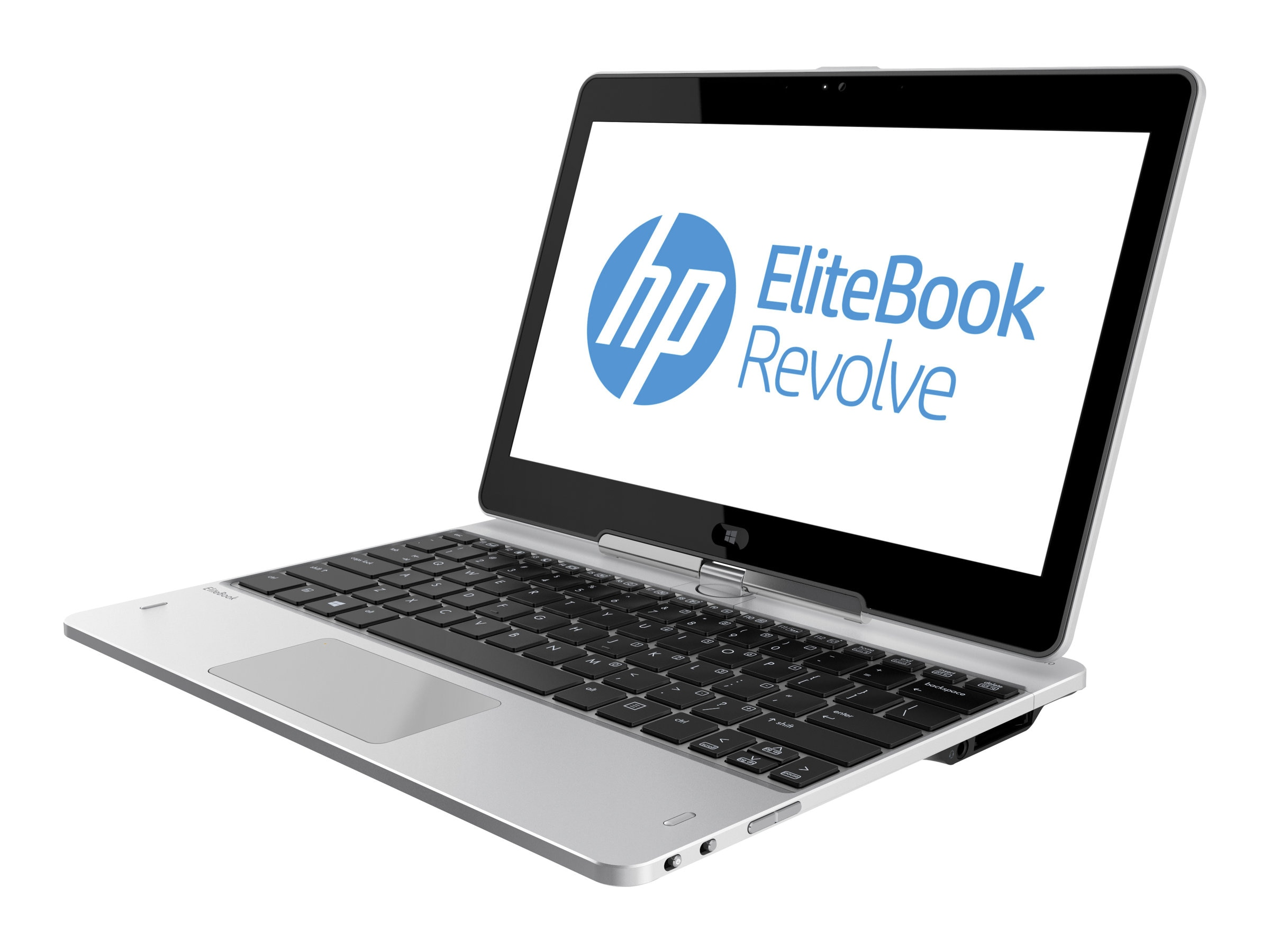 HP EliteBook Revolve 810 Core i5-3437U 1.9GHz 4GB 256GB SSD abgn NIC BT 56k WC 11.6 HD MT W7P64, D7P56AW#ABA, 15451921, Notebooks - Convertible