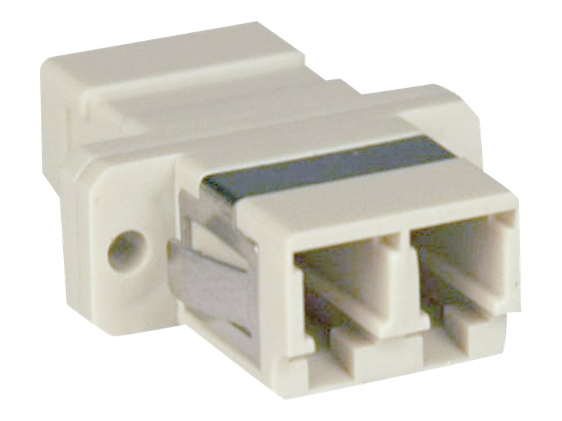 Tripp Lite Fiber Optic Cable Coupler, LC LC, Duplex Multimode, N455-000
