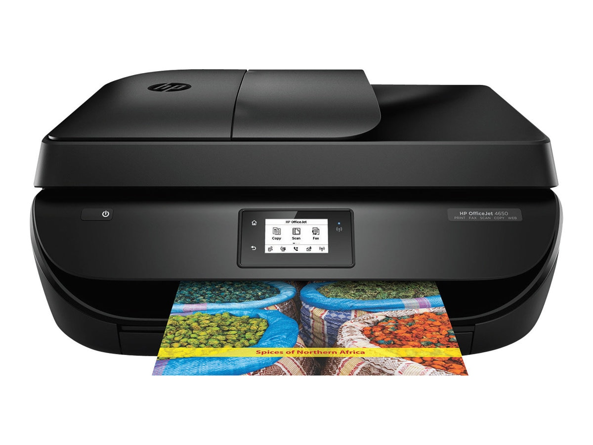 HP OfficeJet 4650 All-in-One Printer, F1J03A#B1H