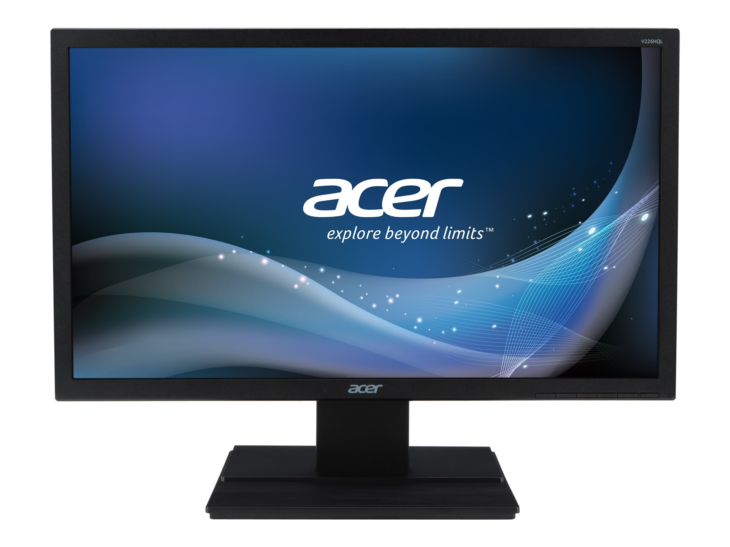 Acer 21.5 V226HQL ABMID Full HD LED-LCD Monitor, Black, UM.WV6AA.A05