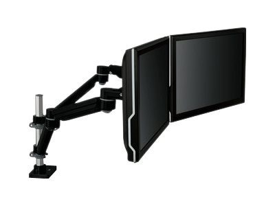 3M Easy Adjust Dual Monitor Arm, Black, MA260MB