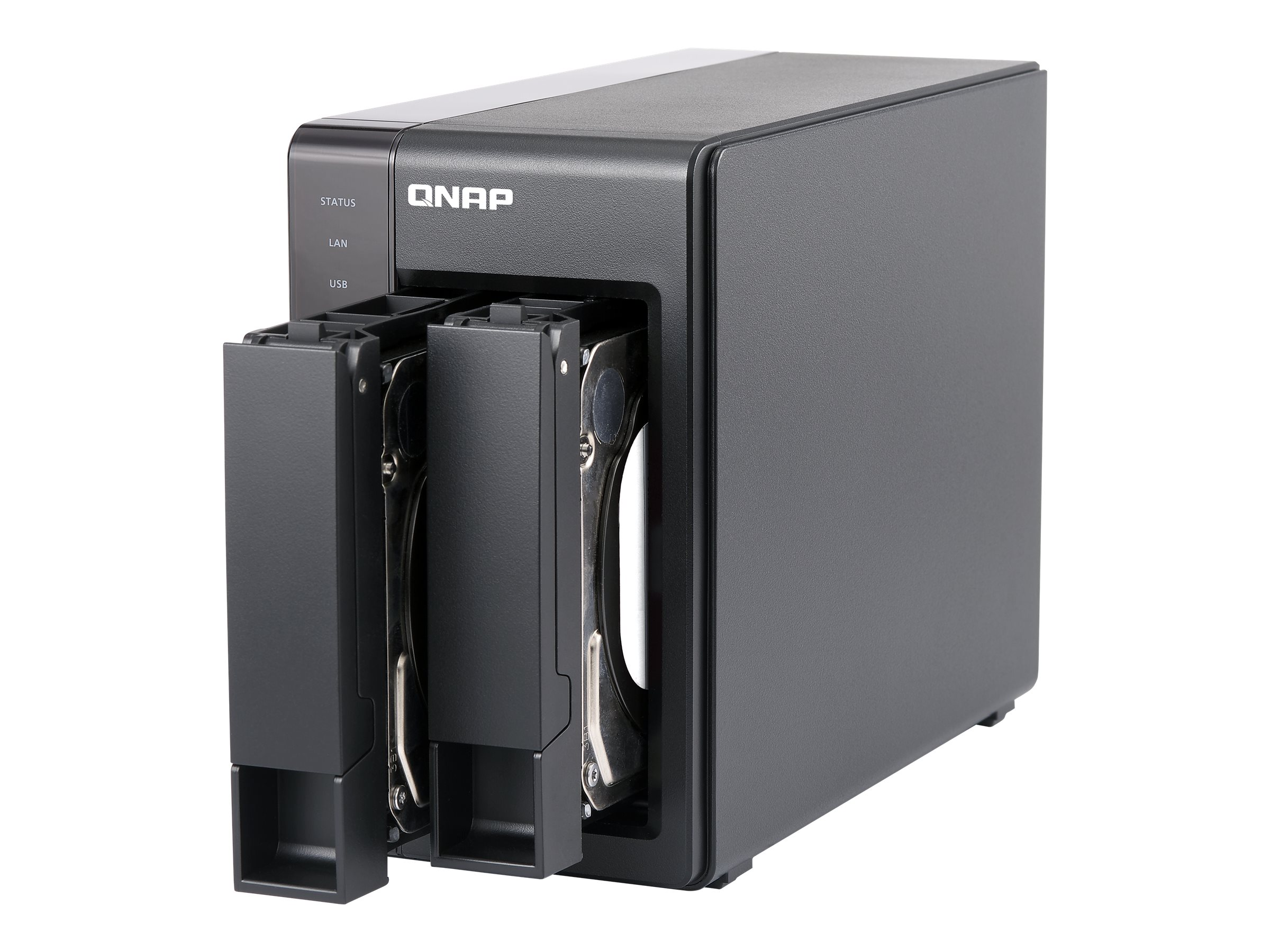 Qnap TS251+ 2-Bay Personal Cloud NAS, TS-251+-2G-US