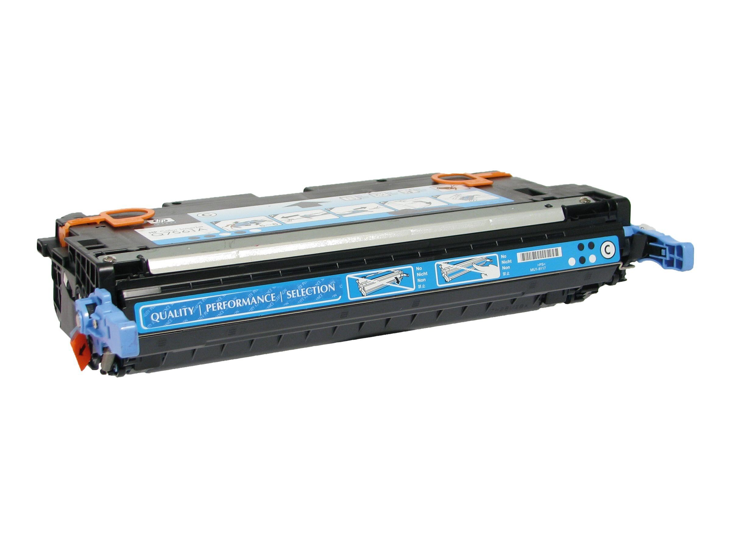 V7 Q7561A Cyan Toner Cartridge for HP Color LaserJet 3000