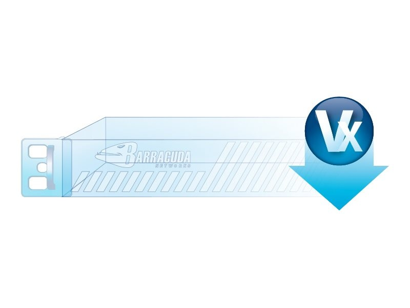 Barracuda Virtual Web Filter 310Vx Appliance with 1 year license