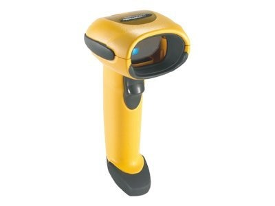 Zebra Symbol Barcode Scanner, Yellow Twilight Black, Multi-Interface, 1D (Cables not included), LS3008-SR20005ZZR, 7785429, Bar Code Scanners