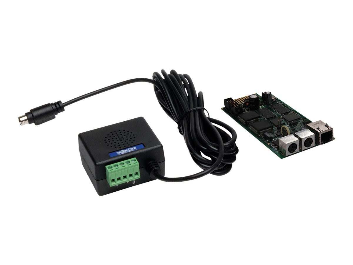 Tripp Lite SNMP Web Interface Card, ENVIROSENSE Sensor for Remote Cooling Management