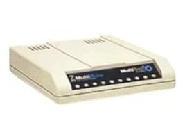 Multitech World Modem V.92 Data Fax RS-232, IEC Power Cord, MT9234ZBA-IEC, 12080124, Modems