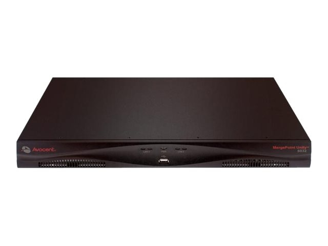 Avocent KVM Switch 1 User Digital KVM Path, Dual AC Power Supply, 16-Port, MPU1016DAC-G01, 9700880, KVM Switches