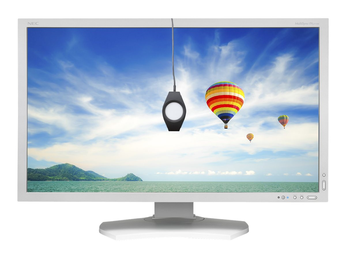 NEC 27 PA272W LED-LCD Monitor, White with SpectraViewII Color Calibrator, PA272W-SV