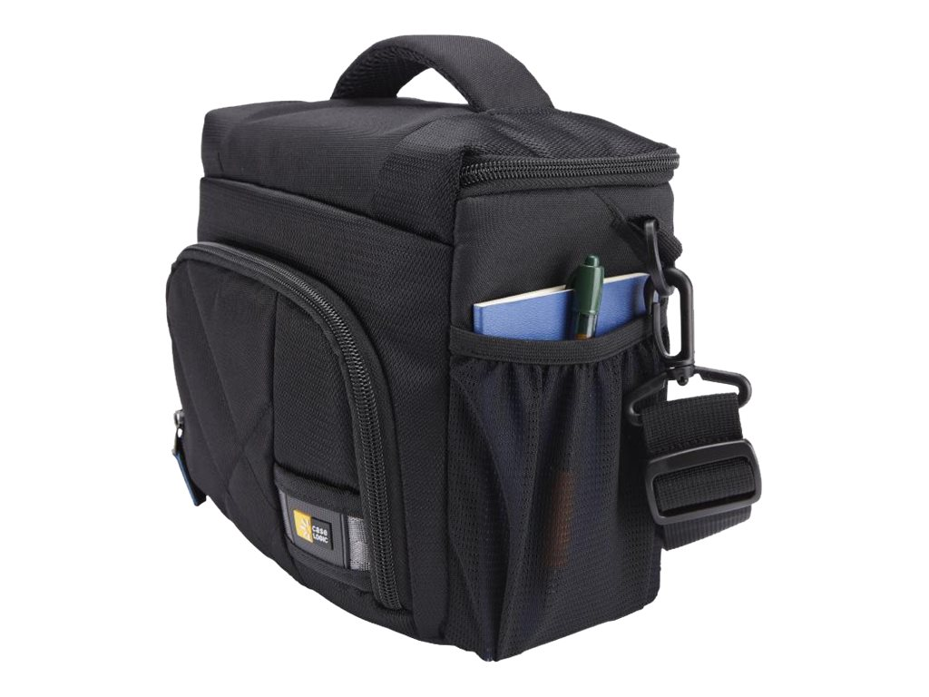 Case Logic DSLR Camera Shoulder Bag Small, CPL-105BLACK, 20276397, Carrying Cases - Camera/Camcorder