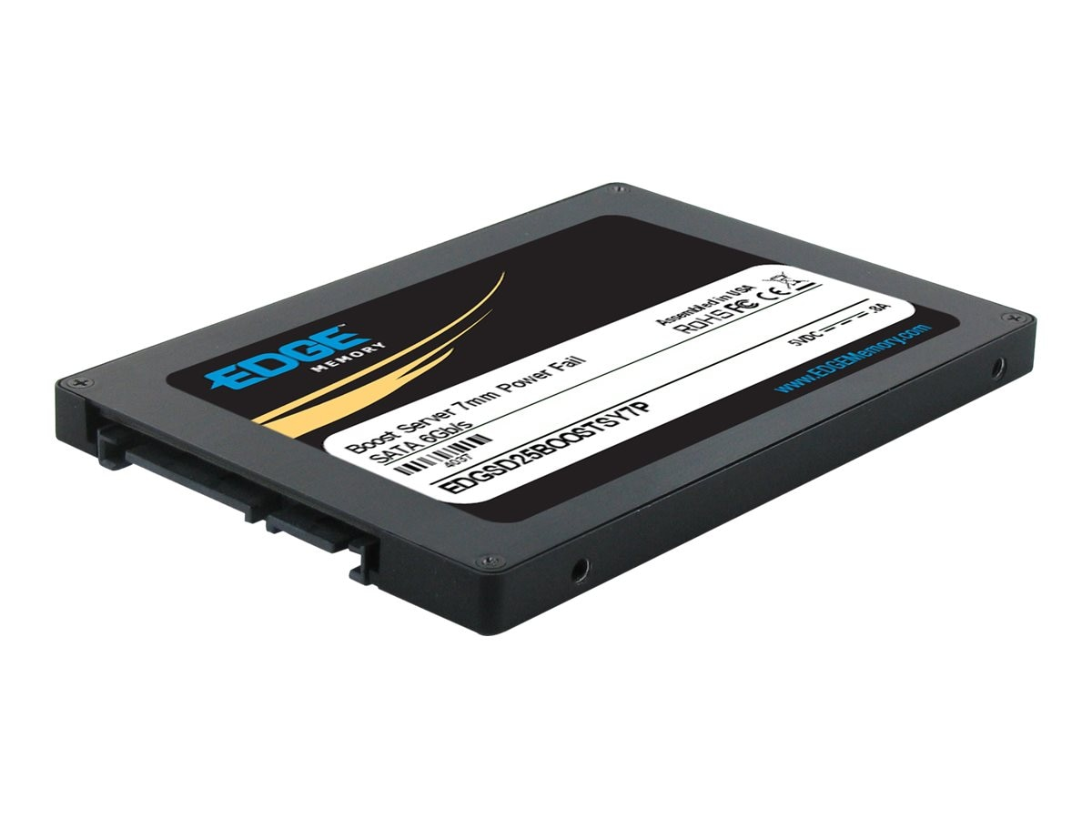 Edge 160GB Boost Server SATA 6Gb s 2.5 7mm Internal Solid State Drive, PE240974