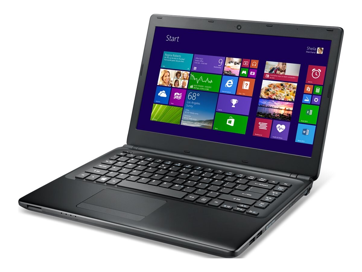 Acer TravelMate P245-M-6675 : 1.6GHz Core i5 14in display, NX.V91AA.003, 16366066, Notebooks