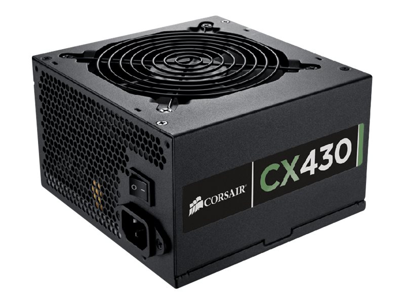 Corsair 430W CX430 ATX Power Supply 80 Plus Bronze, CP-9020046-NA