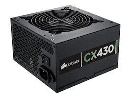 Corsair 430W CX430 ATX Power Supply 80 Plus Bronze, CP-9020046-NA, 14878720, Power Supply Units (internal)