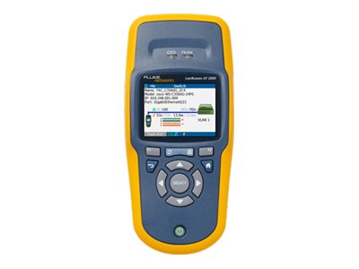 Fluke Linkrunner AT 1000 Network Auto Tester, LRAT-1000, 13694030, Network Test Equipment