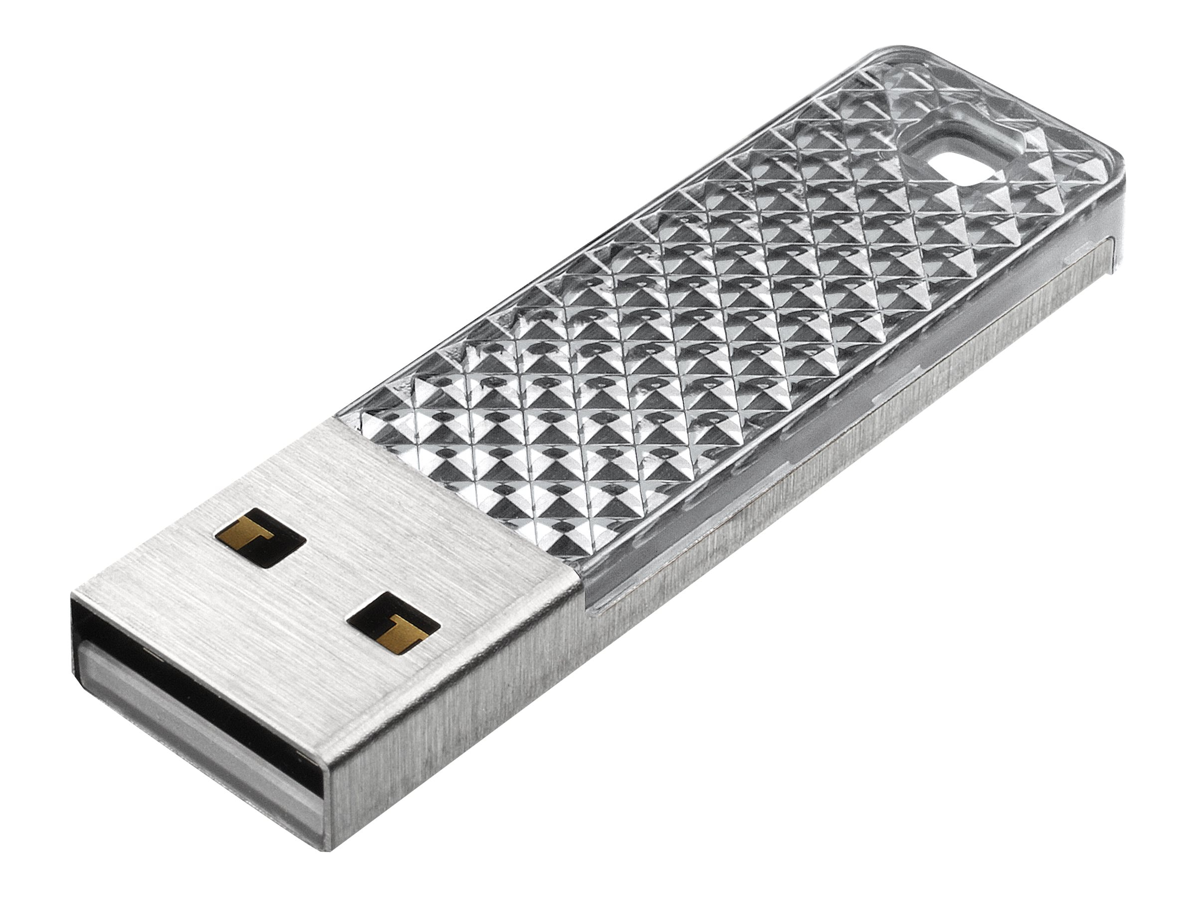 SanDisk 32GB Cruzer Facet USB Flash Drive, Silver, SDCZ55-032G-A46S