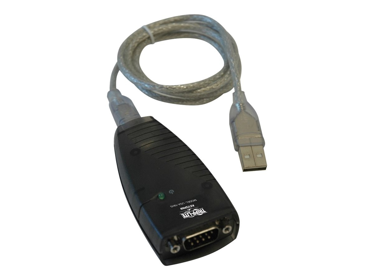 Tripp Lite High Speed USB Serial Adapter, Instant Rebate - Save $3, USA-19HS, 471471, Adapters & Port Converters