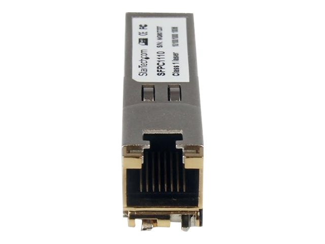 StarTech.com RJ45 Gigabit Copper SFP Transceiver Module Mini-GBIC 100m, Instant Rebate - Save $6, SFPC1110