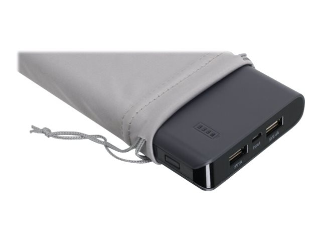 IOGEAR Dual USB Portable Battery Pack 16000mAh, GMP16K