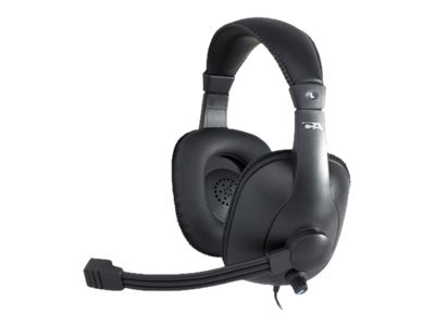 Cyber Acoustics AC-967 Stereo Headset for Education, AC-967, 19857565, Headsets (w/ microphone)