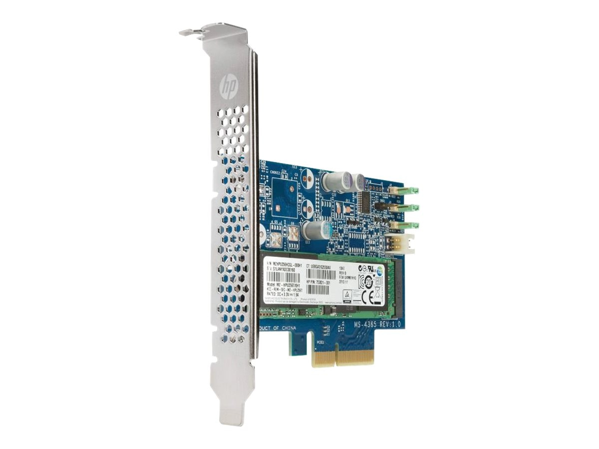 HP 256GB Turbo Drive 2.0 PCIe Internal Solid State Drive