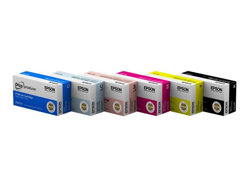 Epson Yellow Ink Cartridge for Discproducer PP-100
