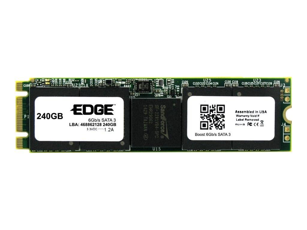 Edge 240GB Boost SATA 6Gb s Double Sided M.2 2242 Solid State Drive