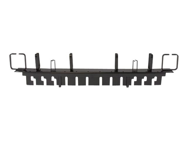 StarTech.com Horizontal Cable Management Panel, 1U x 19w, CMPNL1UC, 24748355, Rack Cable Management