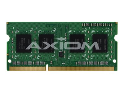 Axiom 4GB PC3-12800 DDR3 SDRAM SODIMM for Select Models, A6994452-AX