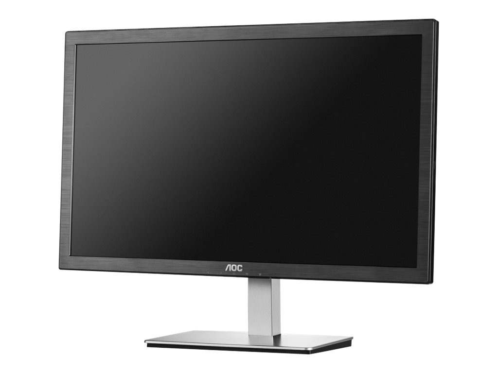 AOC 23.6 E2476VWM6 Full HD LED-LCD Monitor, Black, E2476VWM6, 28348447, Monitors - LED-LCD