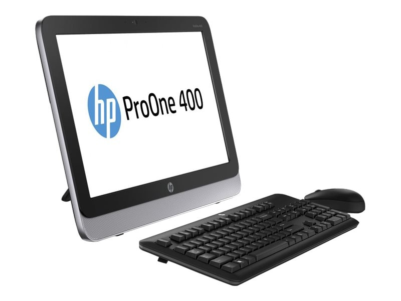 HP ProOne 400 G1 AIO Core i3-4360T 3.2GHz 4GB 500GB DVD-RW abgn BT WC 19.5 HD W7P64-W8.1P, K1K36UA#ABA