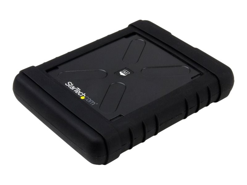 StarTech.com USB 3.0 to 2.5 SATA 6Gb s Rugged Hard Drive or Solid State Drive Enclosure w  UASP