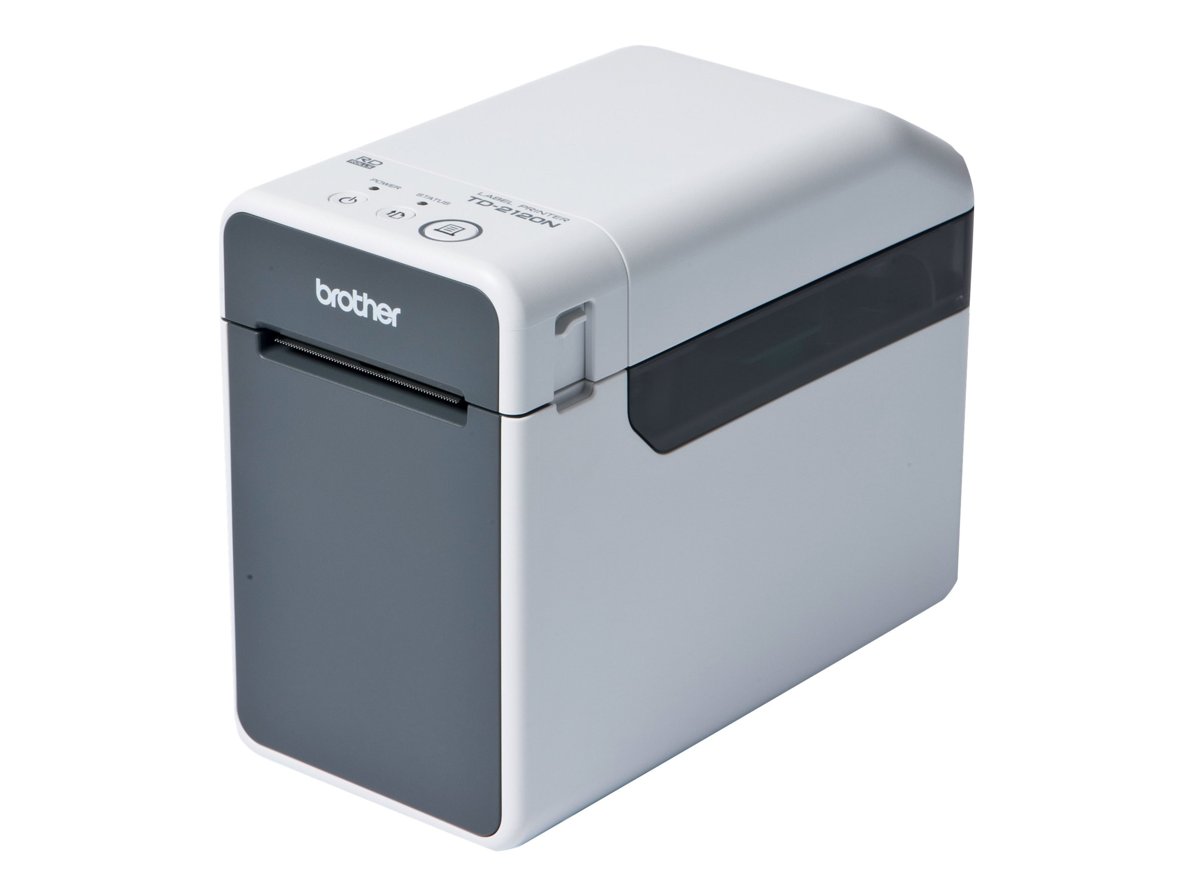 Brother TD-2120N Powered Network Desktop Thermal Printer, TD2120N, 15539560, Printers - Label