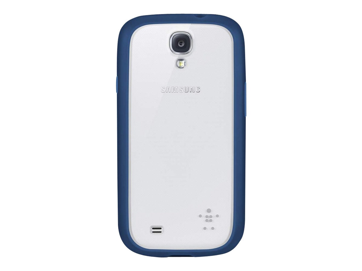 Belkin View Case for Samsung Galaxy S4, Clear Midnight
