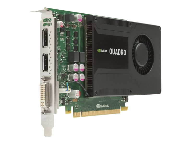 HP NVIDIA Quadro K2000 PCIe Graphics Card, 2GB GDDR5