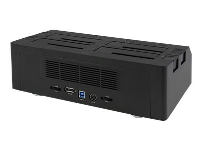 StarTech.com 4-Bay eSATA USB 3.0 to SATA HDD Docking Station, SATDOCK4U3E