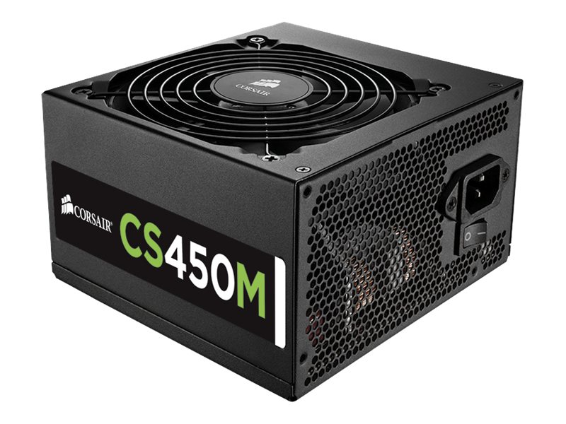 Corsair 450W Modular Power Supply, CP-9020075-NA, 16482841, Power Supply Units (internal)