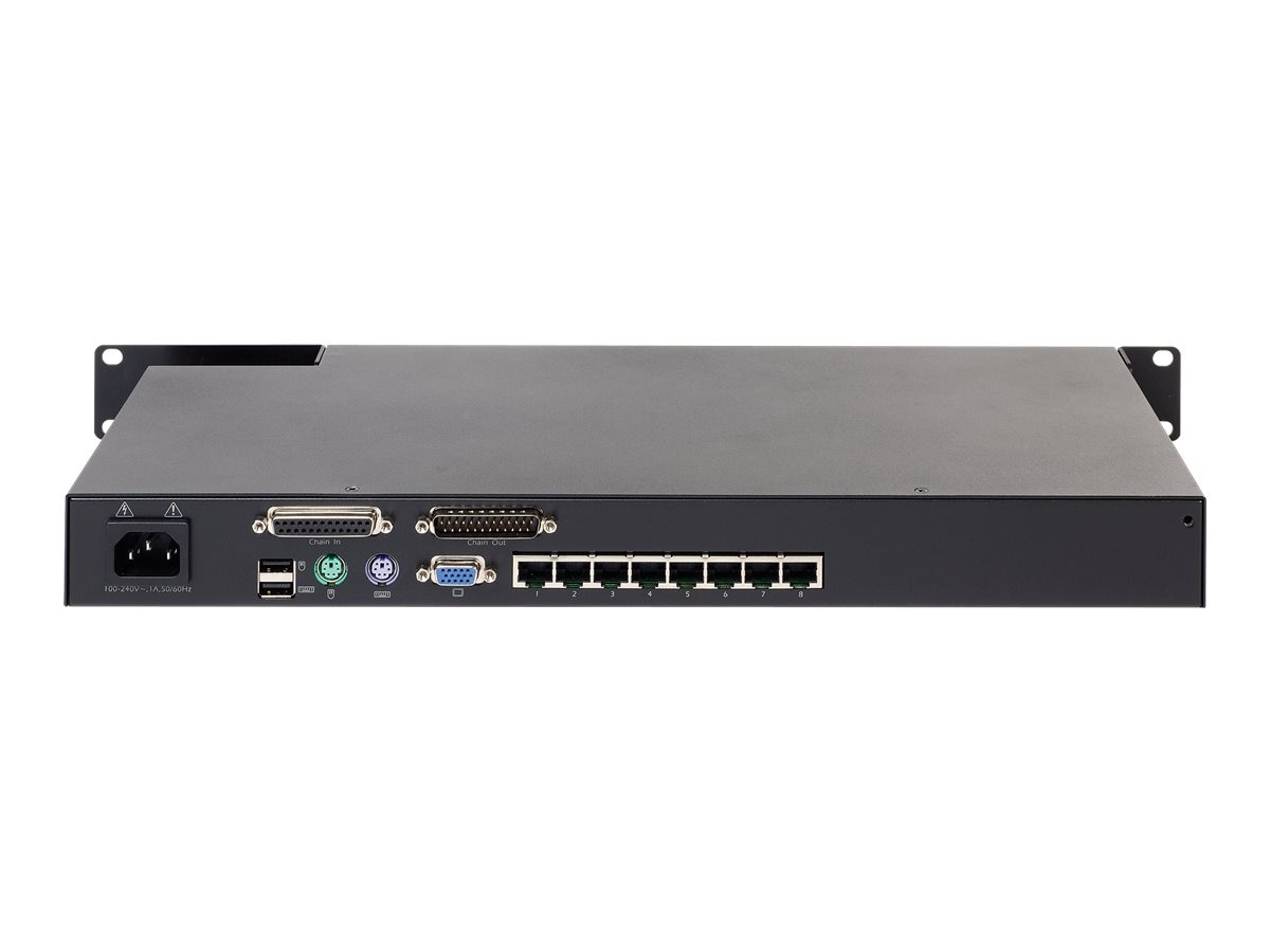APC KVM 2G, Analog, (1) Local User, (8) Ports, KVM0108A