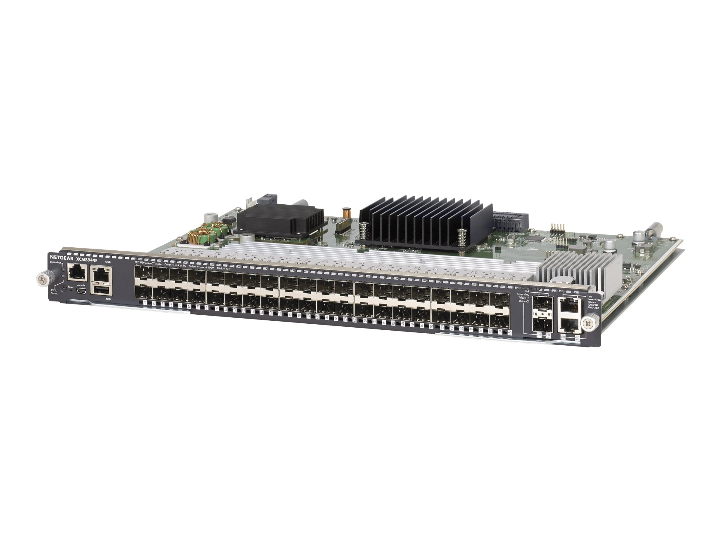 Netgear M6100 Seris 40xSFP 4x10G Blade, XCM8944F-10000S, 18366123, Network Switches