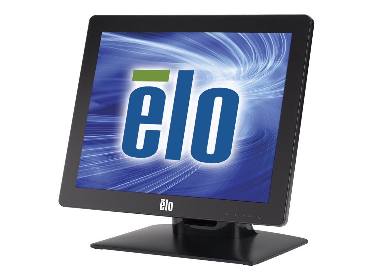 ELO Touch Solutions 1517L 15 LED Accutouch Zero Bezel Dual Serial USB Controller, Gray