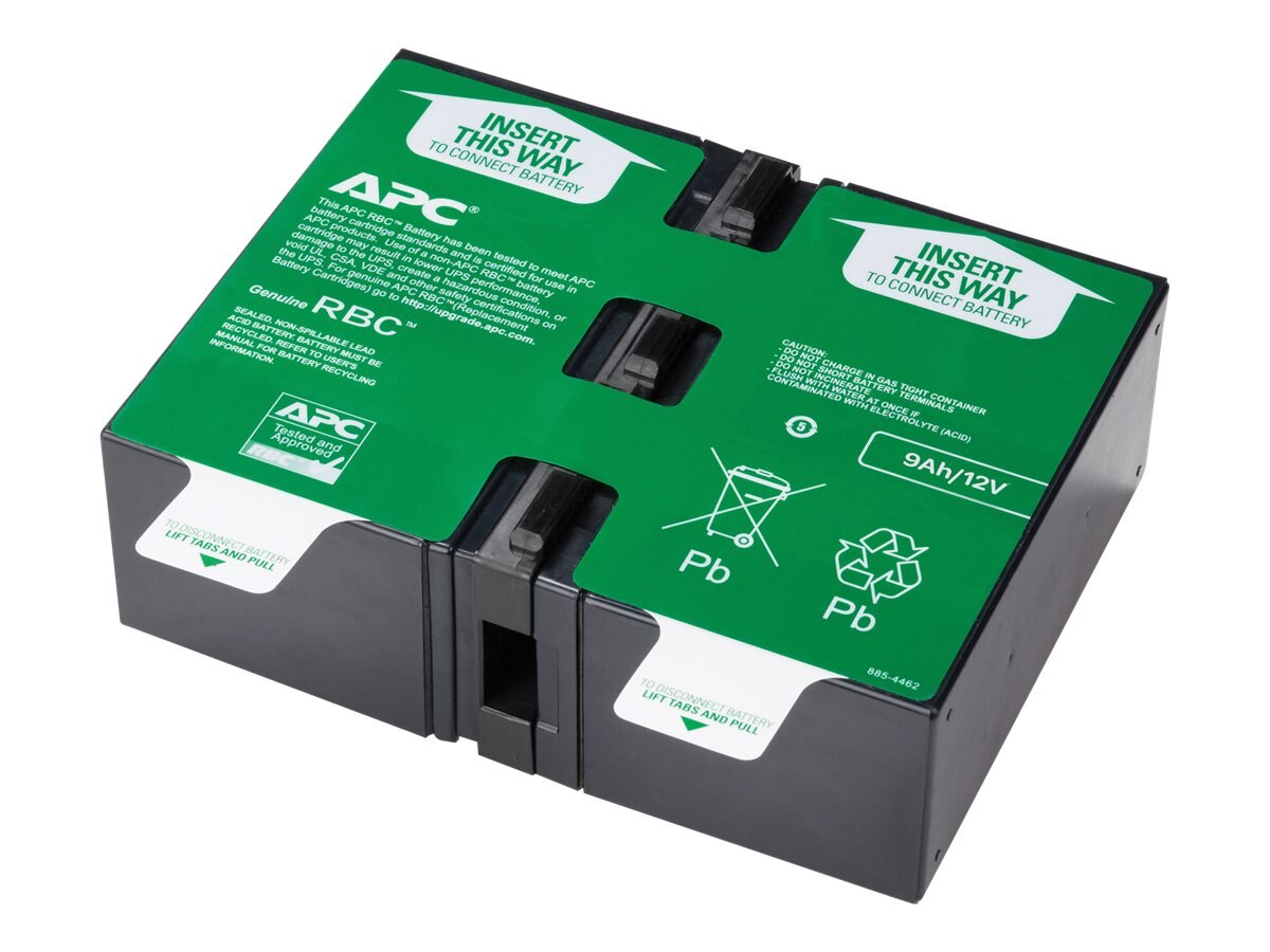 APC Replacement Battery Cartridge #130, Black, APCRBC130