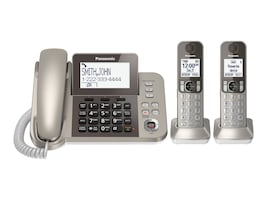 Panasonic 2 Handset Cordless Phone, KX-TGF352N, 18718942, Telephones - Consumer