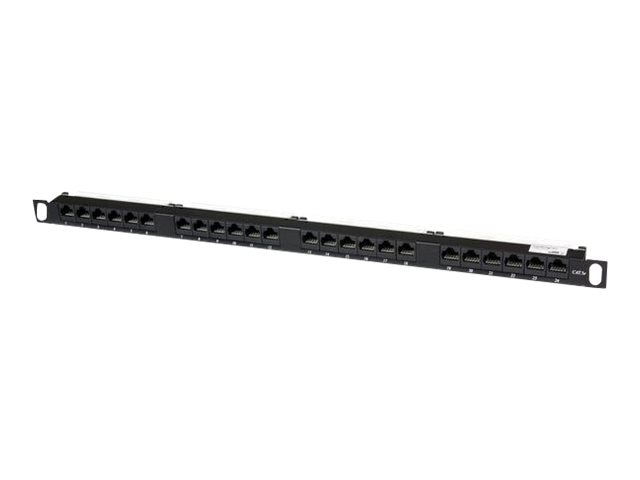 StarTech.com Cat5e 110 Patch Panel, 0.5U, 24-Port, PANELHU24