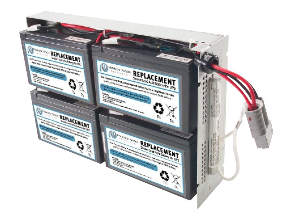 Ereplacements Replacement Battery for APC RBC23, SLA23-ER, 30754735, Batteries - Other