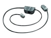 Plantronics Spare Telephone Interface Cable for Savi, 86009-01, 12966953, Headsets (w/ microphone)